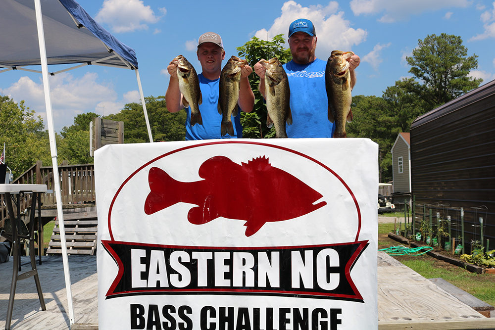 Jamie and Ryan Revis Win on Chowan With 20+ lbs